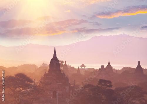Obraz Bagan - fototapety do salonu