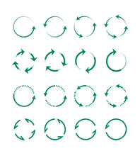 Circular And Swirling Arrows S...