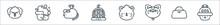 Pets Line Icons. Linear Set. Q...