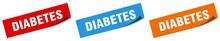 Diabetes Paper Peeler Sign Set...
