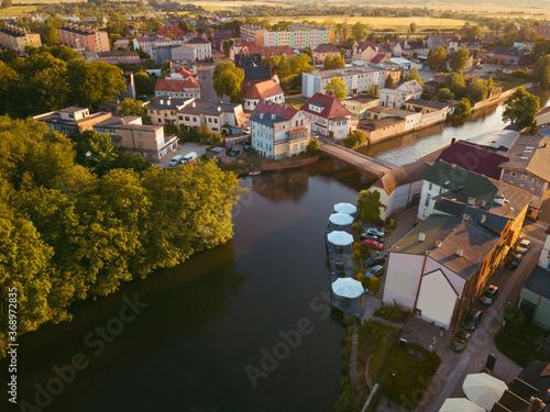 Foto Wieprza River in Darlowo