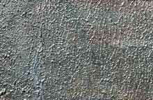 Silver Paint On The Wall