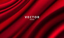 Abstract Gradients, Fabric Red...