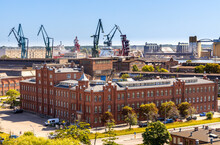Panoramic View Of Gdansk Shipy...