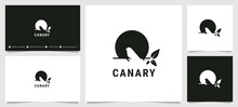 Canary Silhouette Logo