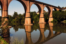 France- Albi- Reflected Arched...