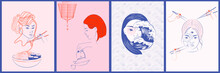 Collection Of Japanese Illustr...
