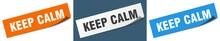 Keep Calm Paper Peeler Sign Se...