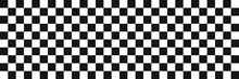 Race Flag. Checkered Background. Vector Seamless Pattern.