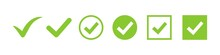 Check Mark Vector Icon. Green ...