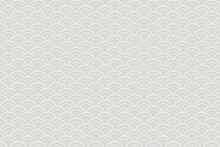 Cream Color Seamless Pattern Japanese Style, Cream Pattern On Gray Background