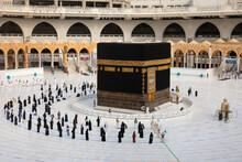Muslim Pilgrims In Al Haram Mo...