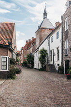 A Beautiful Little Old Street In The City Of Amersfoort In The Netherlands