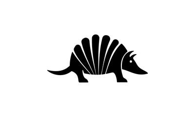 armadillo, animal, black, armadillo design