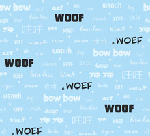 "Dog Sound ""woof"" In Many Inter..."