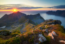 Landscape Husfjellet Mountain ...