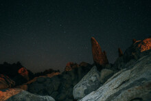Starry Night Over Boulders
