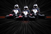 Go Kart Indoor, Cart Racing Fast, Car Where Gokarting