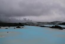 Alien Landscape Near The Blue Lagoon