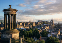 A View Of Edinburgh From Calto...
