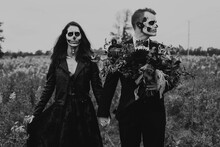 A Skeleton Themed Engagement S...