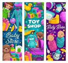 Baby Care, Toys Shop, Cartoon ...