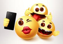 Emoji Smiley Selfie Friends Ta...