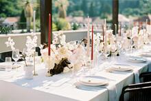 Elegant Table At Wedding