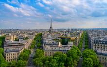 A View Of Paris In Pretty Weat...