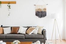 Bright Mid Century Living Room