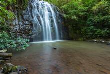 Tropical Waterfall In Far Nort...