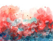 summer background abstract texture watercolor on paper