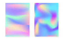 Hologram Gradient Background S...