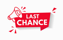 Last Chance Sale Offer Promo S...