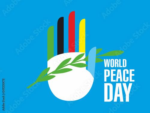 World Peace Day Wallpaper Mural