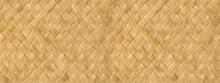Woven Bamboo Mat Texture Banner
