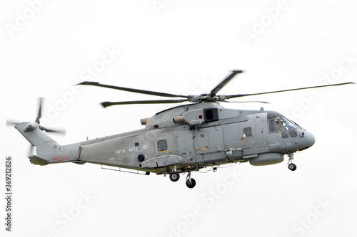 Fotografie, Obraz British navy anti-submarine warfare (ASW) helicopter