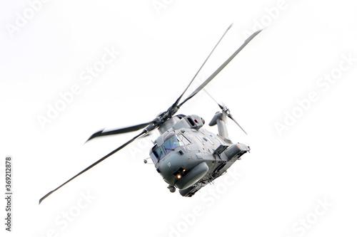 Photo British navy anti-submarine warfare (ASW) helicopter