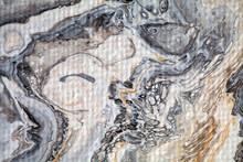 Macro Detail Of An Abstract Pa...