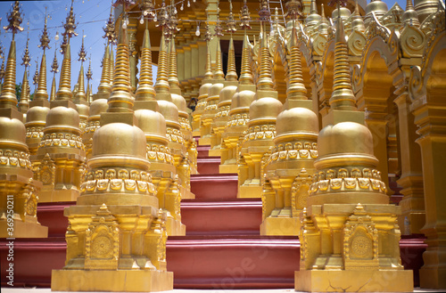 Fotografie, Obraz buddhist temple in thailand