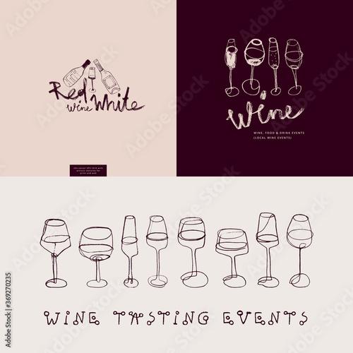 Valokuva Winehouse symbol and winery insignia