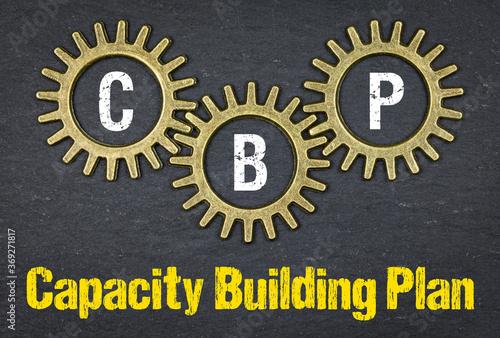 Fototapeta CBP Capacity Building Plan
