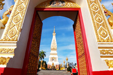 Wat Phra That Phanom, Nakhon Phantom, Thailand