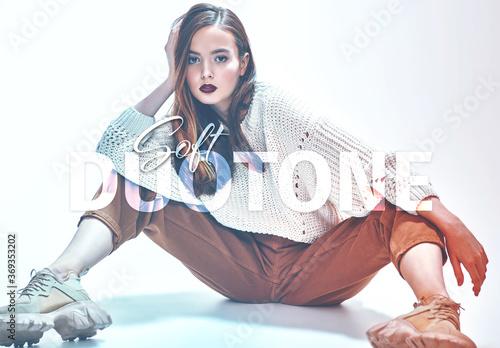 Obraz Soft Duotone Effect - fototapety do salonu