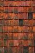 old roof tile abstract