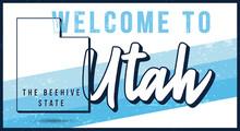 Welcome To Utah Vintage Rusty ...