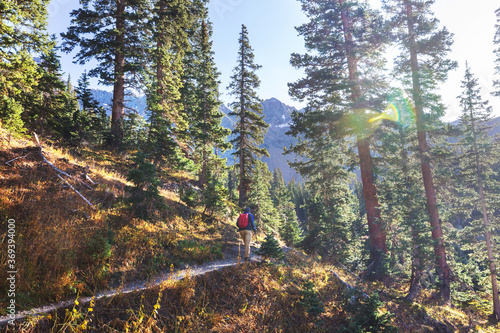 Obraz In hike - fototapety do salonu