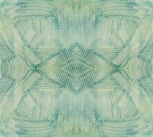 Teal Blue Texture Of Snake Skin For Backdrop