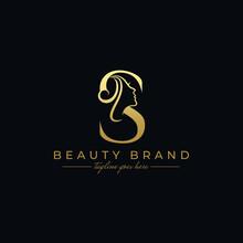 Letter S Beauty Face, Hair Sal...
