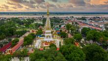 Aerial View Wat Phra That Phan...